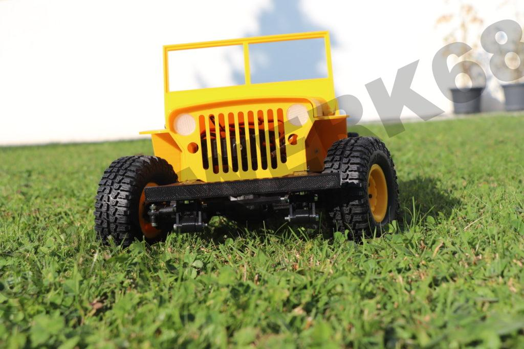 Rc Jeep Aus Dem 3d Drucker Werk68